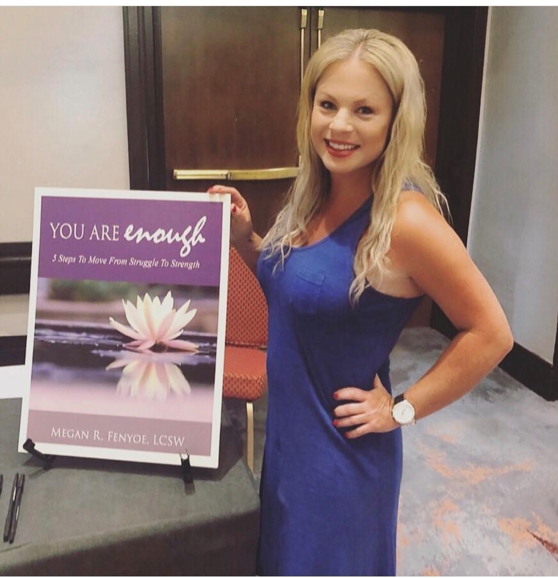 Podcast Host Megan R. Fenyoe